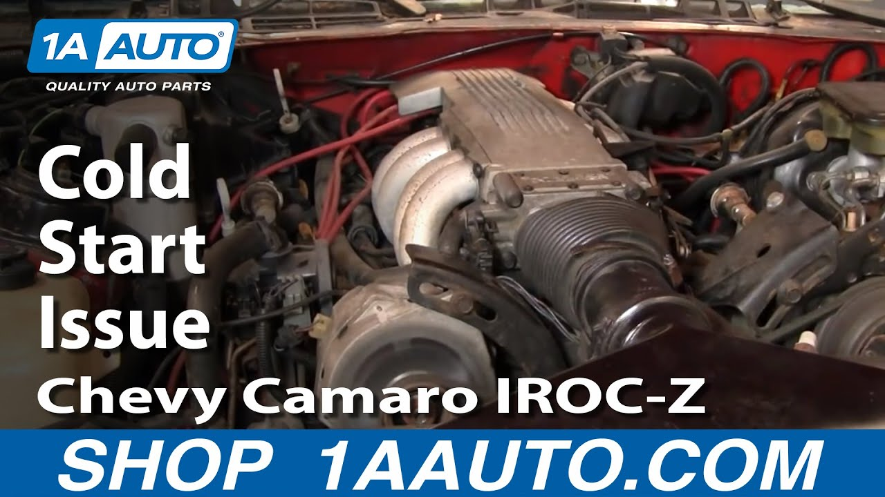 How About a Little Help!! Cold Start Issue with 1986 Chevy Camaro IROCZ 305 TPI  YouTube