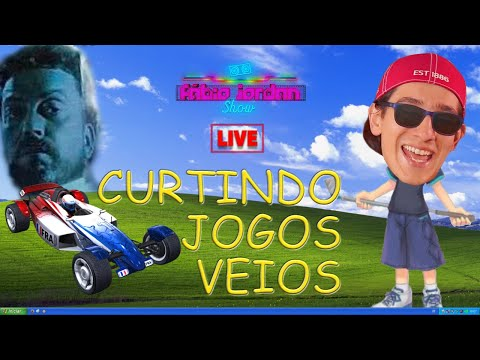 LIVE: WINDOWS XP E JOGOS VEIOS + BATE-PAPO