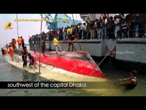 Bangladesh ferry carrying 200 people capsizes on river Padma near Dhaka