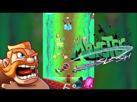 Monster Slash - Arcade Game for iPhone and Android