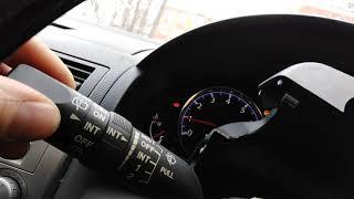 Mazda Demio DY. Заменил переключатель дворников с интервалом времени включения.