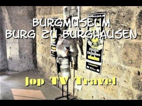 Besichtigung Des Burgmuseums Burg Zu Burghausen Deutschland (Bayern) Reisebilderbuch Jop TV Travel