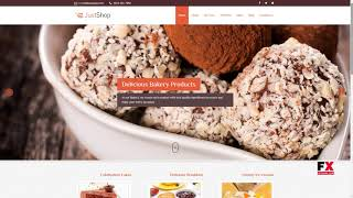 Elementor Cake Bakery WordPress Theme - Justshoppe Cliff Antiman