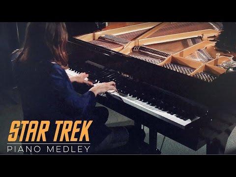 STAR TREK Piano Medley by David Kaylor | 50th Anniversary Edition