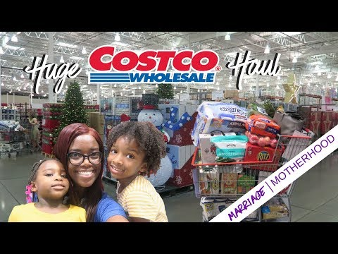 Huge Costco Haul | Christmas Decor | Shop with me