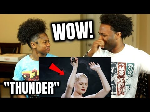 Jessie J - Thunder (SHE IS NOT HUMAN!!) REACTION