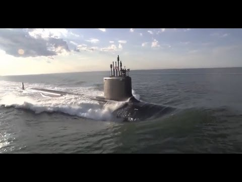 NEW SUBMARINE - United States Navy Takes Delivery of USS Minnesota