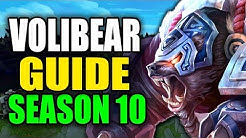 SEASON 10 VOLIBEAR GAMEPLAY GUIDE - (Best Volibear Build, Runes, Playstyle) - League of Legends