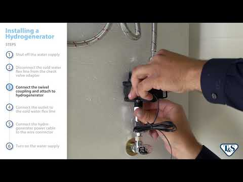 How To: Installing A Hydrogenerator On Above-Deck Sensor Faucets