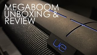 Ultimate Ears UE Megaboom Unboxing, Review & Sound Test