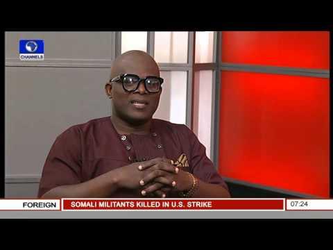 Newspaper Review With Lanre Adewole, Lagos Bureau Chief Nigerian Tribune Pt.1