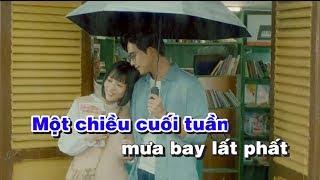 Huyền Thoại Một Chiều Mưa Karaoke - Sáng tác Nguyễn Vũ