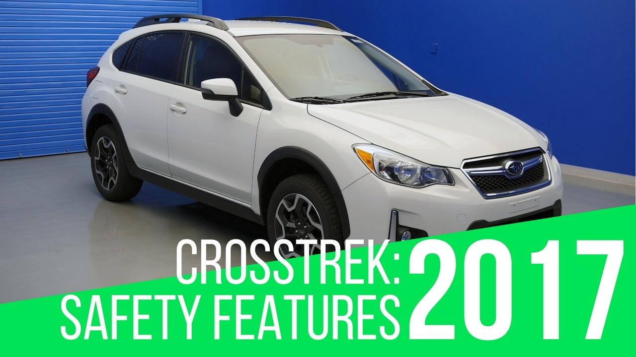 2017 Subaru Crosstrek Safety Features