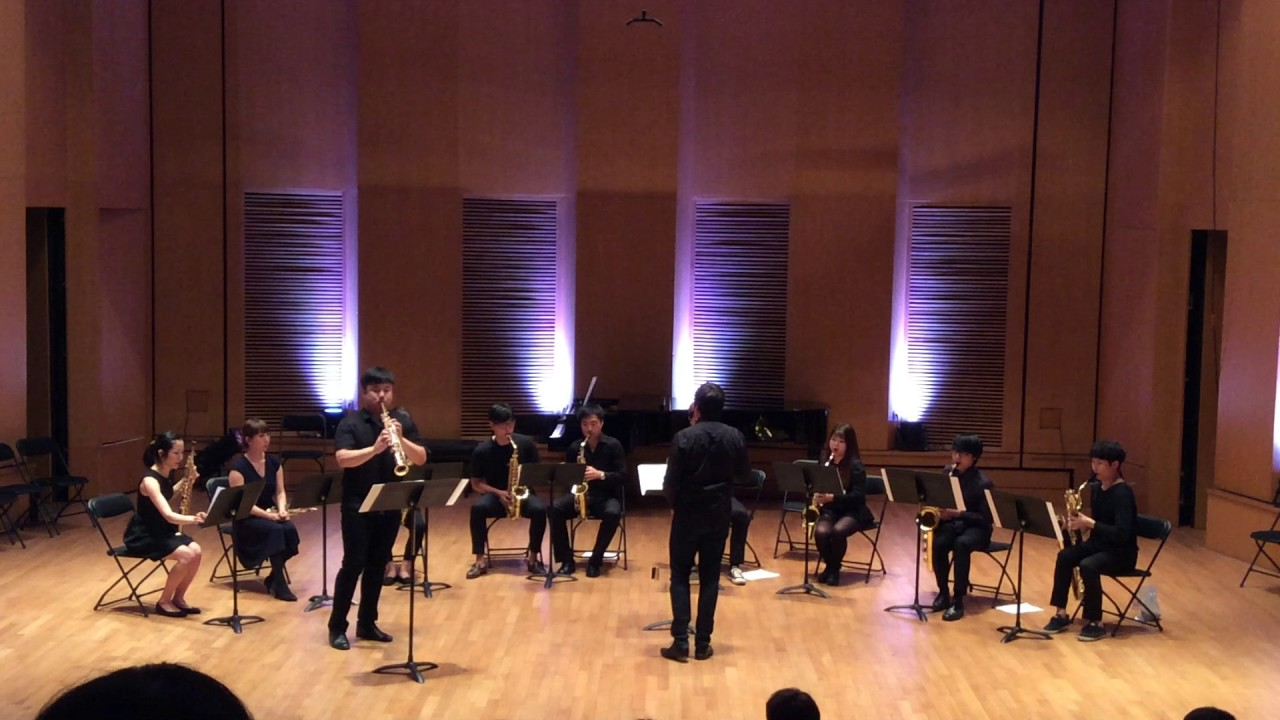 Concerto A.Khachaturian for Violin(Saxophone) - JinHo KEEM