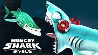 Hungry Shark World - ЛИСЬЯ АКУЛА (Thresher) - МАКСИМАЛЬНЫЙ УРОВЕНЬ