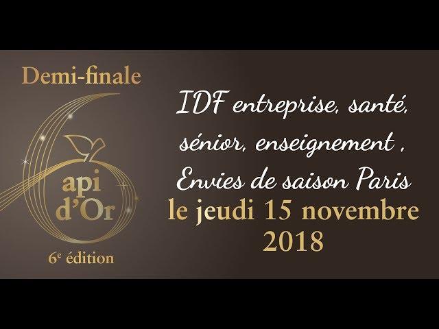 14.Demi-finale Api d'Or Paris