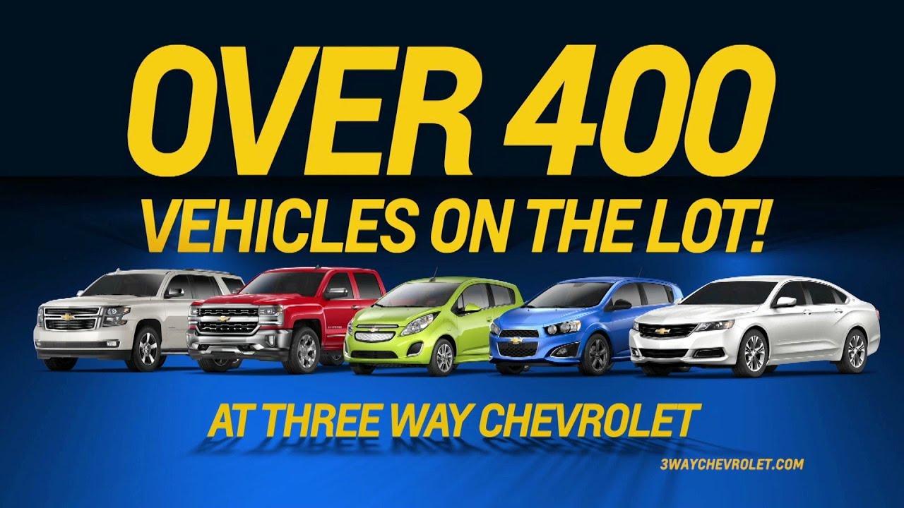 Three-Way Chevrolet Bakersfield - TV - YouTube