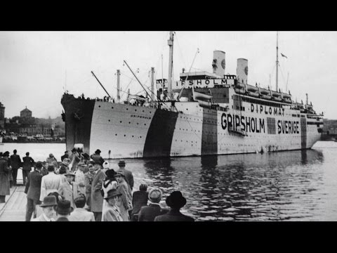 Swedish prisoner exchange ships during World War II - documentary