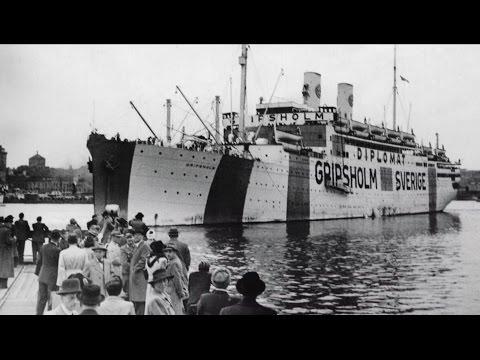 Swedish prisoner exchange ships during World War II - documentary