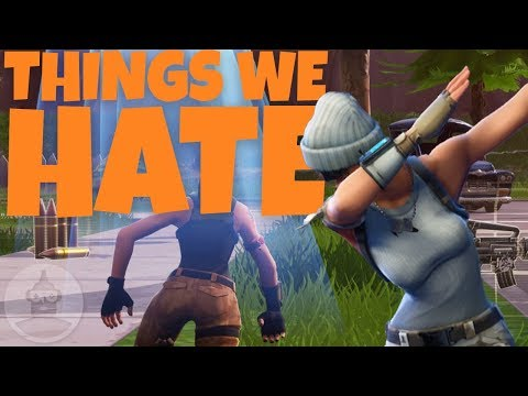 10 Things Fortnite Players HATE! (Like Getting Killed By Floor Spikes) | The Leaderboard