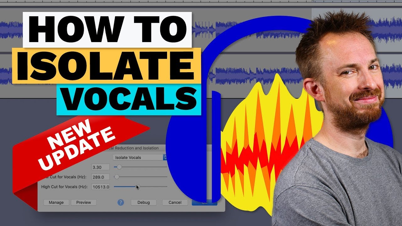 How to Isolate Vocals in Audacity (Remove Music and Keep Vocals)