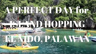 Perfect DAY to start ISLAND HOPPING in EL NIDO PALAWAN