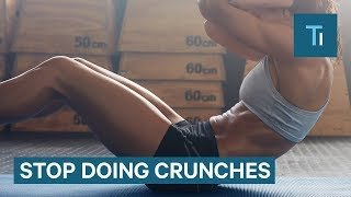 Stop Doing Crunches And Sit-Ups — Do Planks And Leg Raises Instead