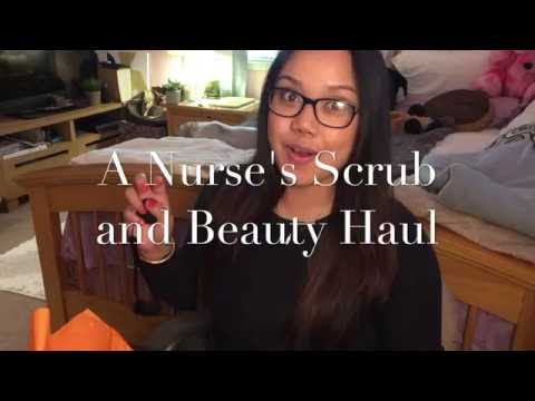 A Nurse's Scrub and Beauty Haul 2016