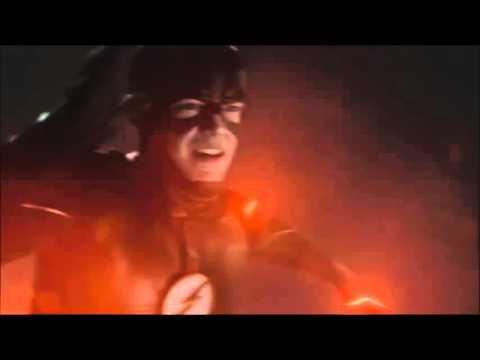 The Flash 2x16 The Flash runs Mach 3.3