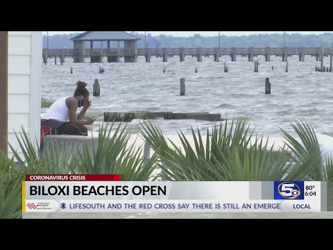 Biloxi Beaches Open Youtube