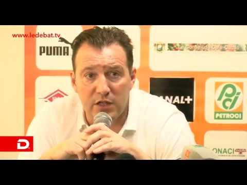 Dans l'actualité/Conférence de presse Marc Wilmots avant le match CI Maroc