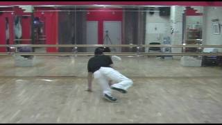 Брейк данс обучение. Урок 06. Breakdance tutorial footwork. Lesson 06