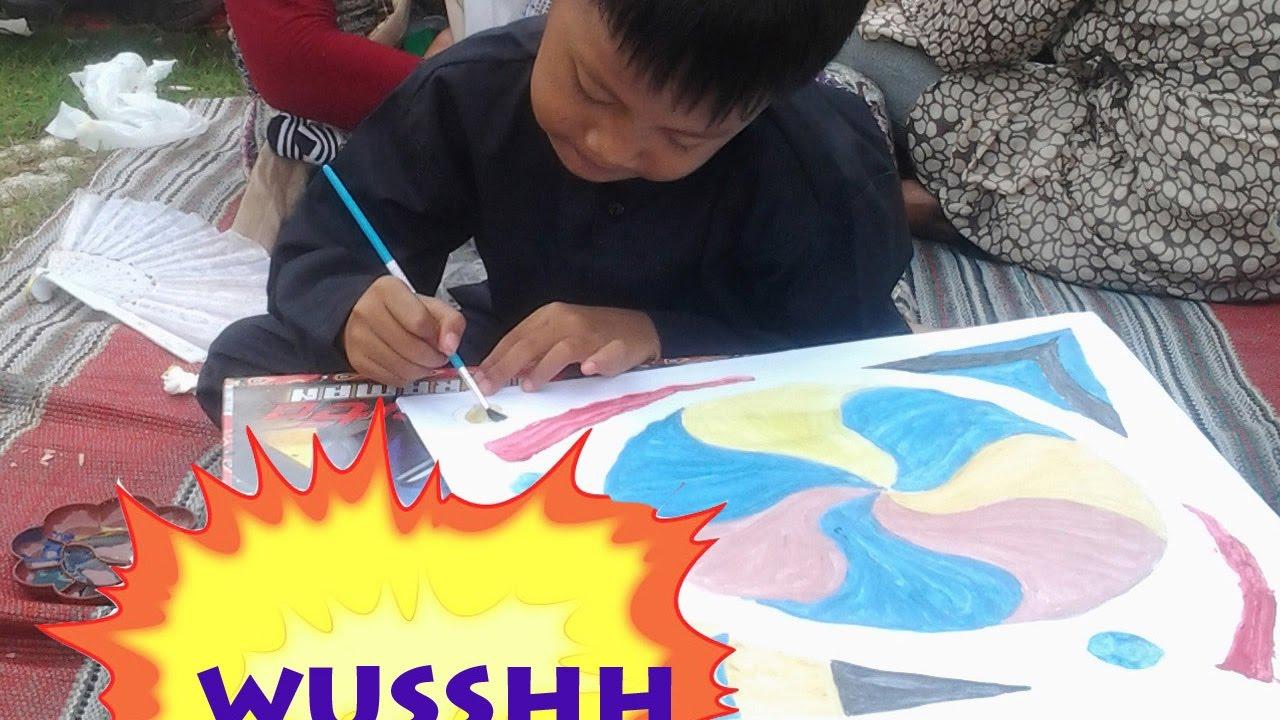 Lomba Mewarnai Layang Layang Denpasar Bali Youtube