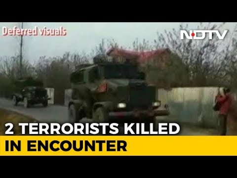2 Hizbul Terrorists Shot Dead In Encounter In Jammu And Kashmir's Pulwama