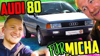 MICHA bekommt seinen RENTNER AUDI! - Audi 80 Typ 89 - Bestandsaufnahme!