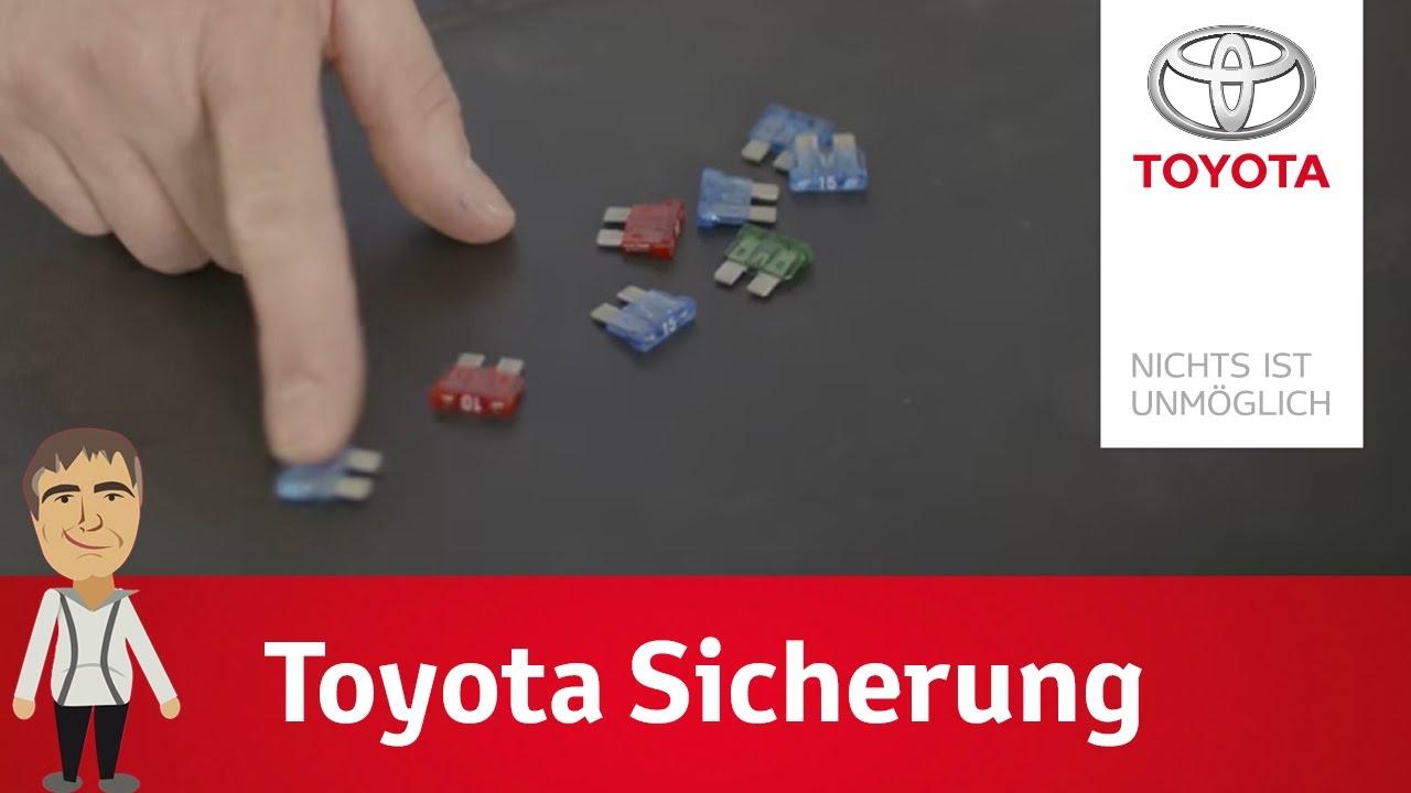 Die Sicherung und der Sicherungskasten bei Toyota | Dirk erklärt\'s ...