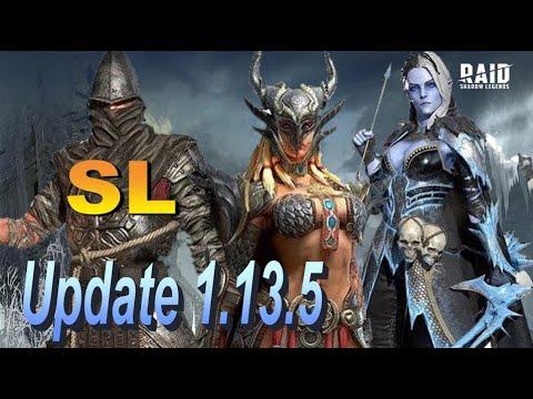 Raid: SL ДЯДЯ О   Обновление 1.13.5/Обзоры/Открытие осколков💥💥💥