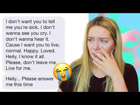 Der traurigste Chat den du jemals lesen wirst.... | Annaxo