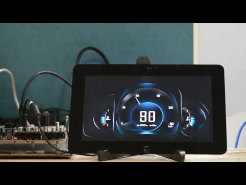 Linux Based Instrument Cluster Booting in 1.2 Secs