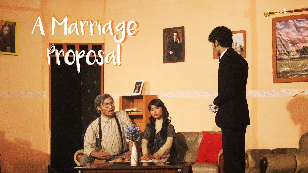 the marriage proposal by anton chekhov summary