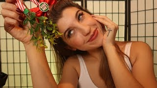 ASMR Tipsy Mistletoe Kisses 😊🌟🎄