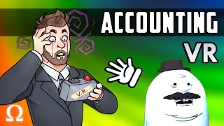 A RICK & MORTY ACID TRIP, WHAT HAVE I DONE?! | Accounting VR (HTC VIVE) WTF Moments