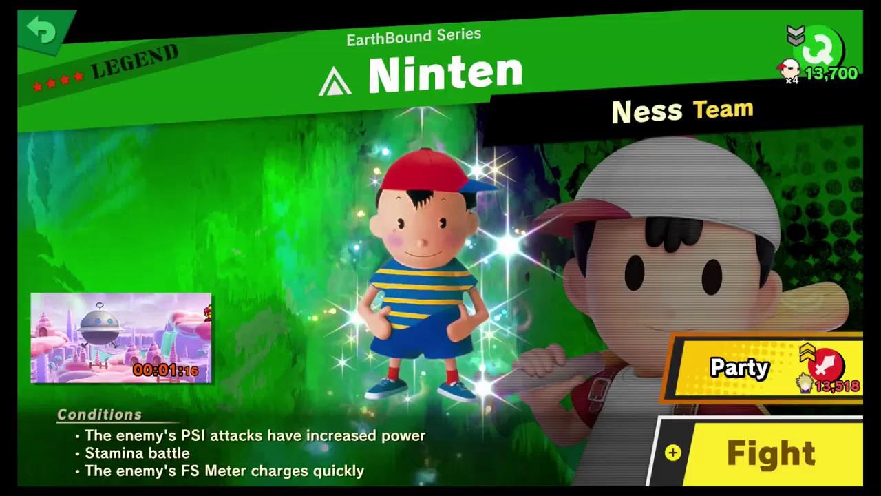 Super Smash Bros Ultimate - [Legend Spirit] Ninten