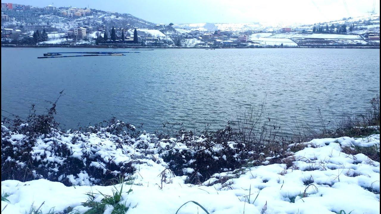 Karda Balık Avı ve Sohbet / Kar Fırtınasına Yakalandık !!