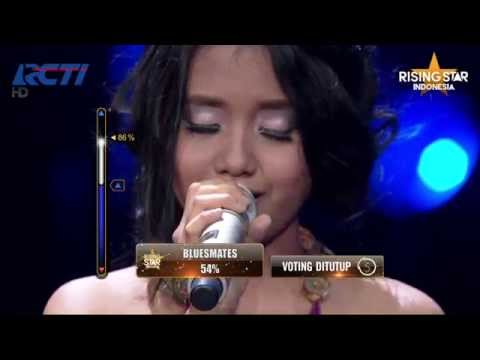 """Hanin Dhiya """"Somewhere Out There"""" Linda Ronstadt - Grand Final Rising Star Indonesia Eps 24"""
