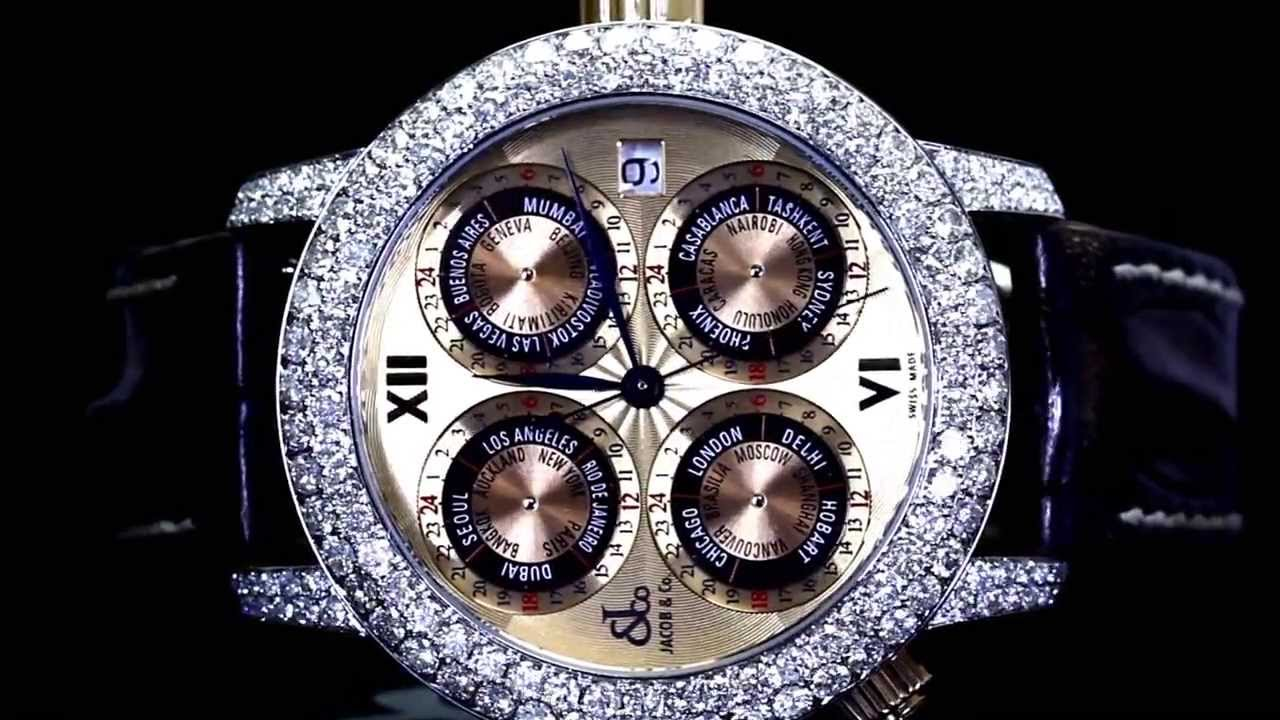 mens jacob co diamond world gmt limited watch mens jacob co diamond world gmt limited watch