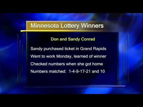 Minnesota Lottery Winners Claim Prize - Lakeland News at Ten - January 18, 2012.m4v