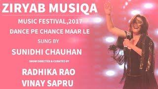 Gambar cover Sunidhi Chauhan Dance Pe Chance With Radhika Rao & Vinay Sapru