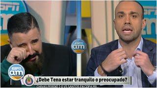 ¿Adal protege a las Chivas? Álvaro no puede creer lo que escucha. ¿Y se pone a llorar? | ESPN AM