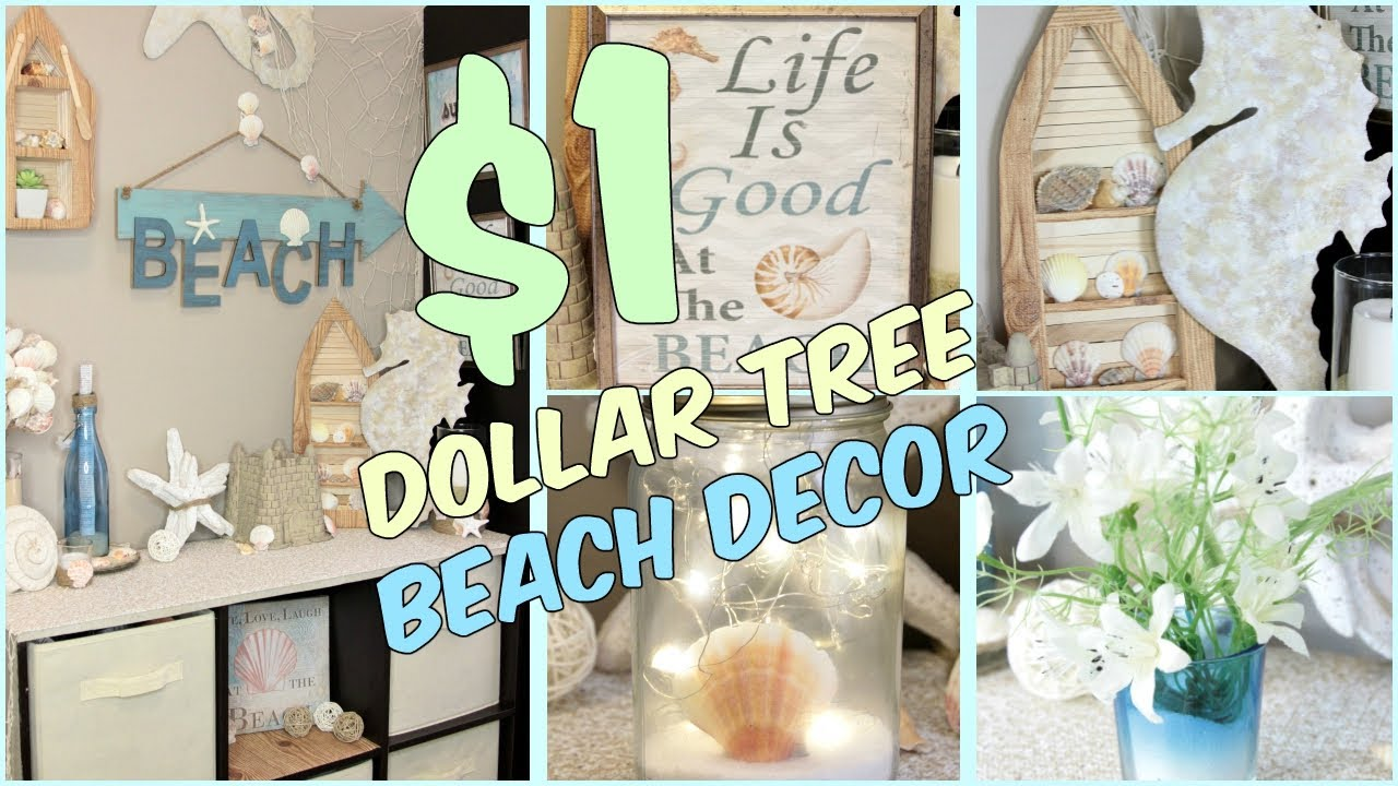 Dollar Tree Beach Home Decor Ideas Youtube